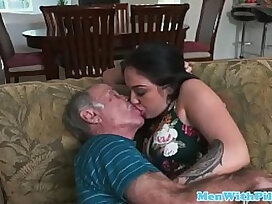 escort-granny-old and young-old man-sex